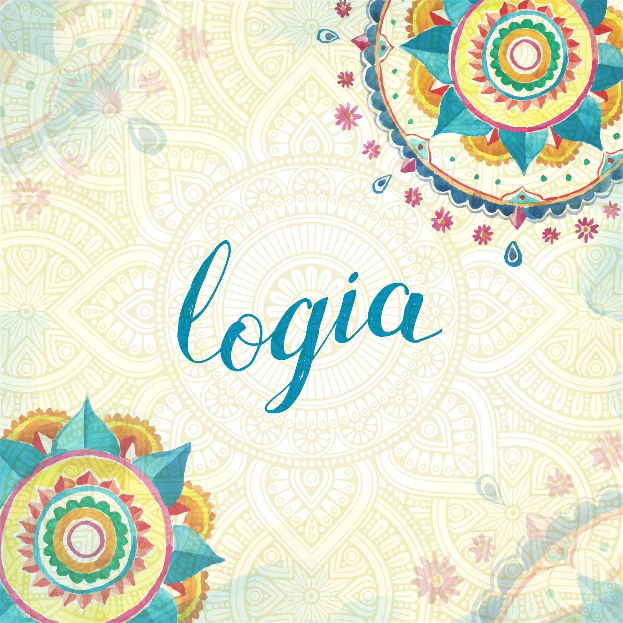 Diseño tarjeta regalo Logia Female in colors