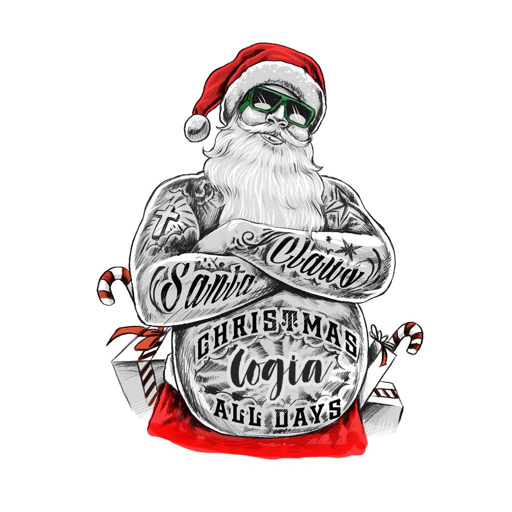 Diseño tarjeta regalo Logia - Navidad Noel 1