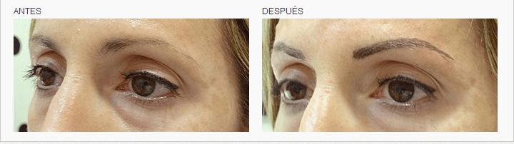 micropigmentacion de cejas en Logia Barcelona