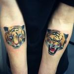Los reyes del tatuaje geométrico