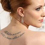Los famosos se tatúan con amor