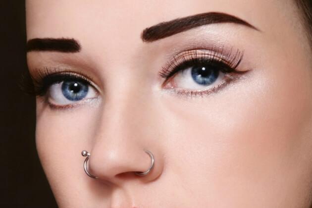 Tipos de piercings en la nariz
