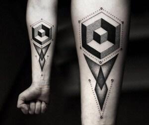 Tatuajes Geométricos Tatuajes Logia Barcelona