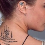 Los curiosos tatuajes de las famosas
