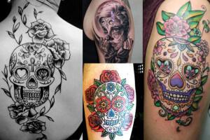 El Origen De Los Tatuajes De Calaveras Mexicanas Tatuajes Logia