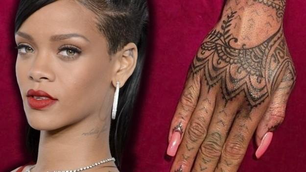 Tatuaje curioso Rihanna