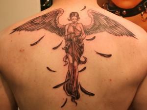 Tatuajes De ángeles Tatuajes Logia Barcelona