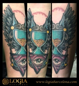tatuajes relojes