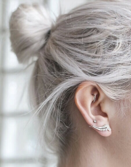 Piercing Rook Logia Tattoo Piercing Barcelona