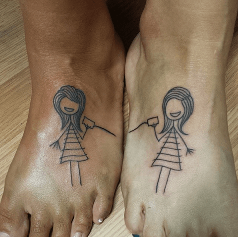 Tatuajes Para Hermanas Tatuajes Logia Barcelona