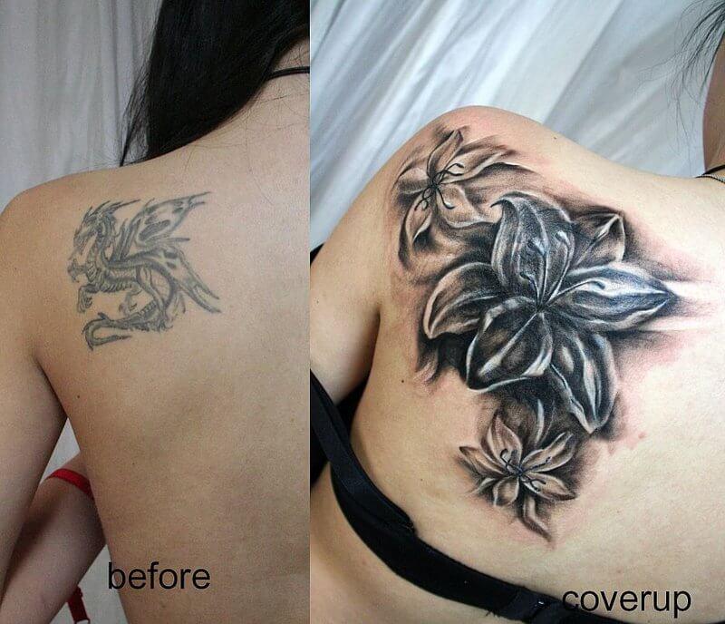 Tattoo cover up. Cómo cubrir un tatuaje