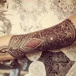 La espiritualidad de los tatuajes de mandalas