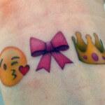 Tatuajes de emojis