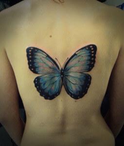 El Significado De Los Tatuajes De Mariposas Tatuajes Logia Barcelona