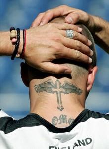 beckam tatuaje
