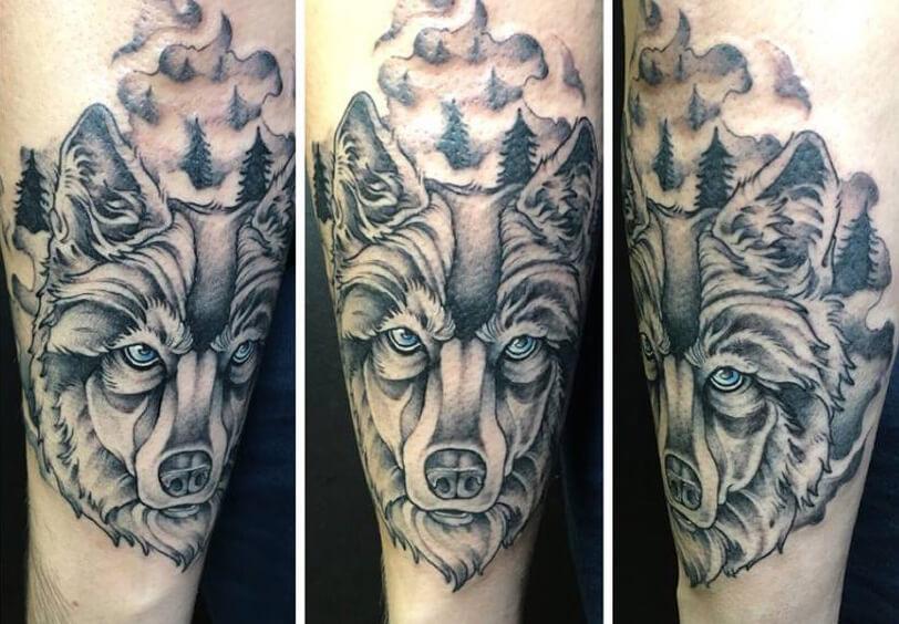 Tatuajes De Lobos Tatuajes Logia Barcelona
