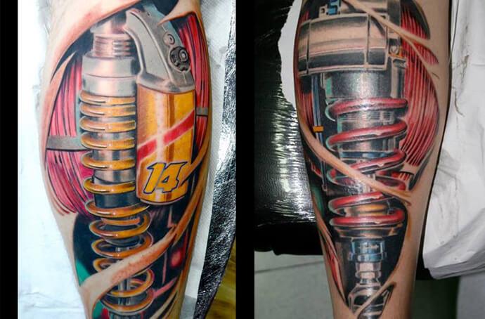 Tatuajes Biomec&225nicos  Logia Barcelona
