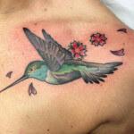 Los tatuajes de colibrís