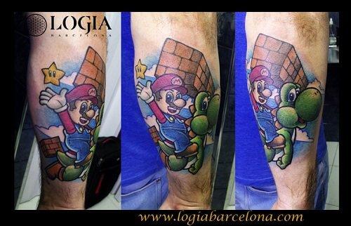 tatuajes dibujos animados