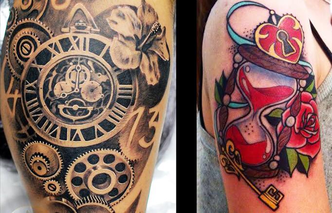 Los tatuajes de relojes