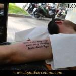 Letras para tatuarse