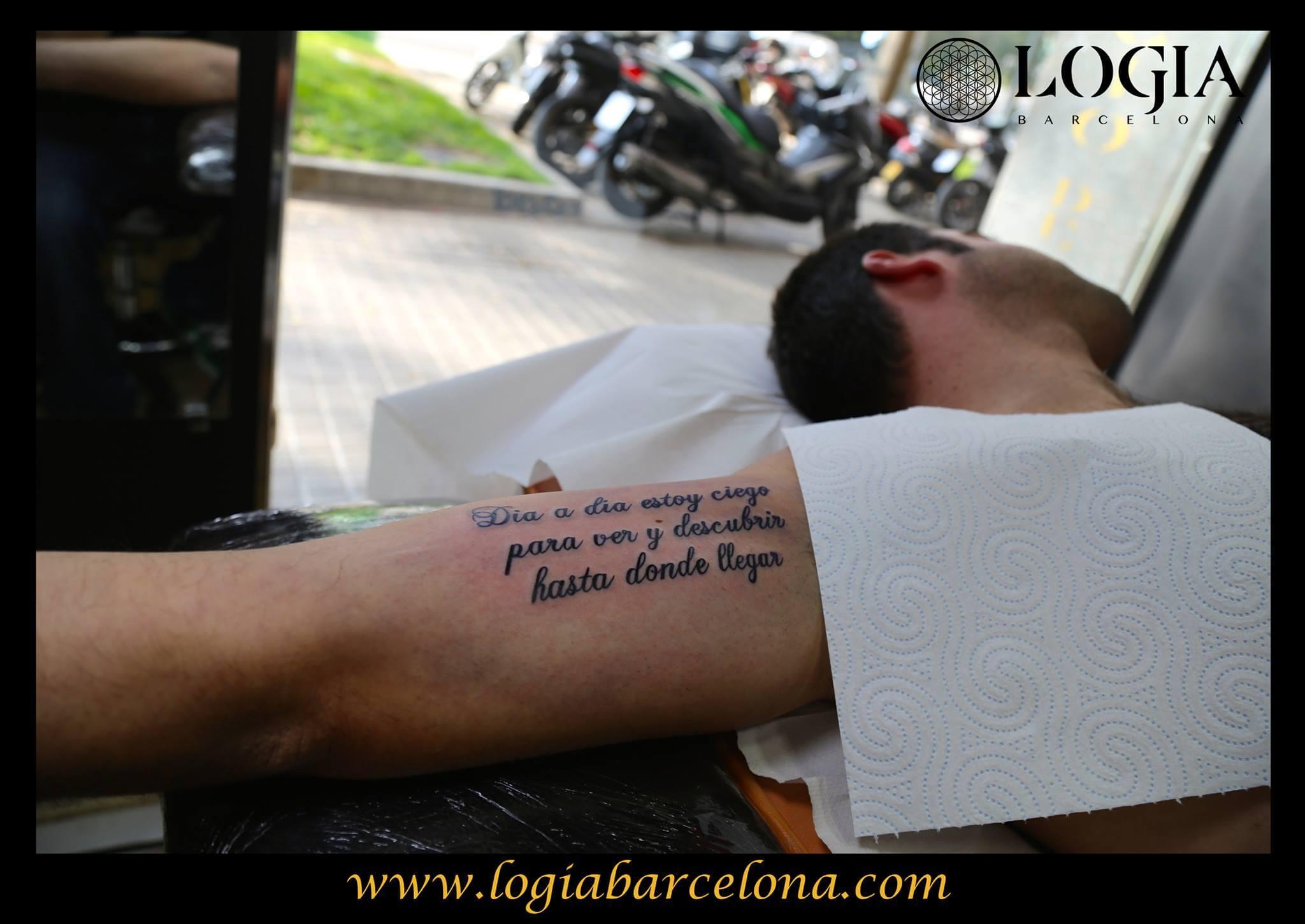 Letras Para Tatuarse Tatuajes Logia Barcelona