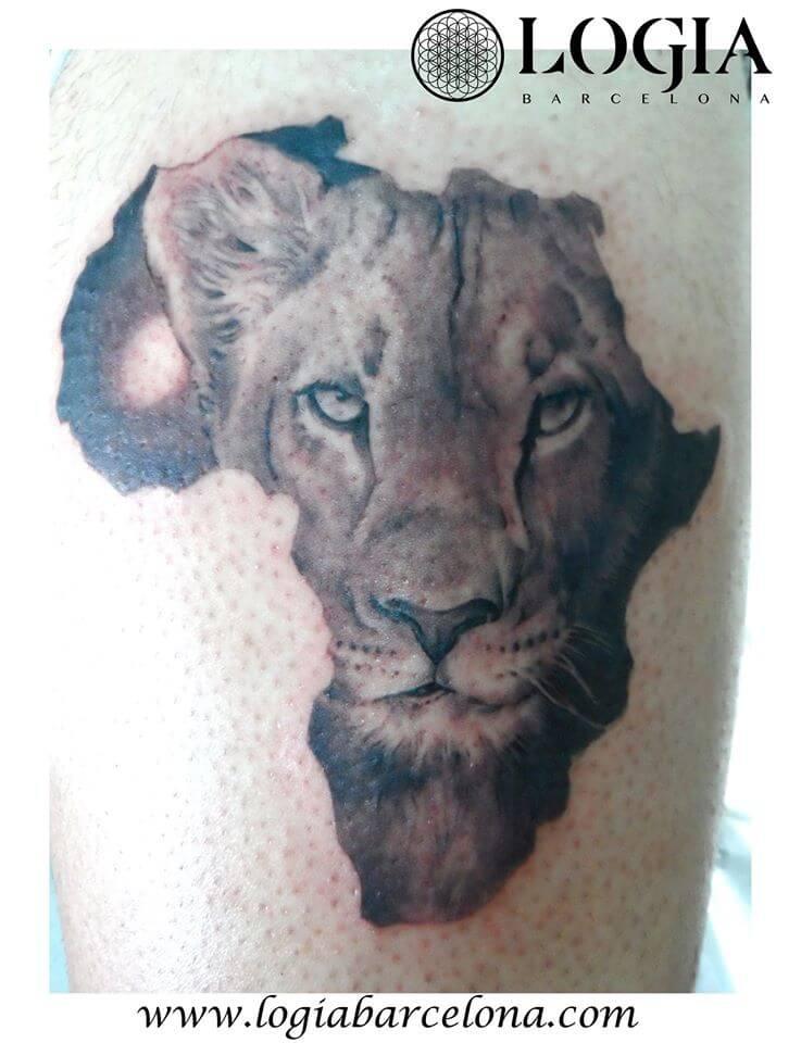 Tatuajes De Leones Tatuajes Logia Barcelona