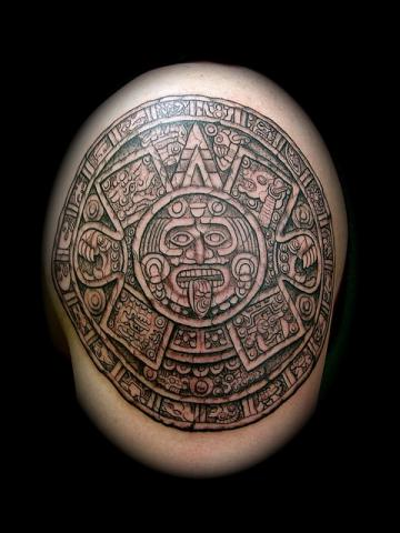 Tatuajes Mayas Tatuajes Logia Barcelona