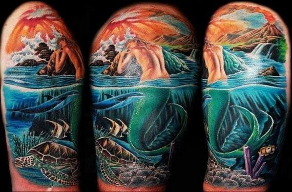 Tatuajes de sirenas