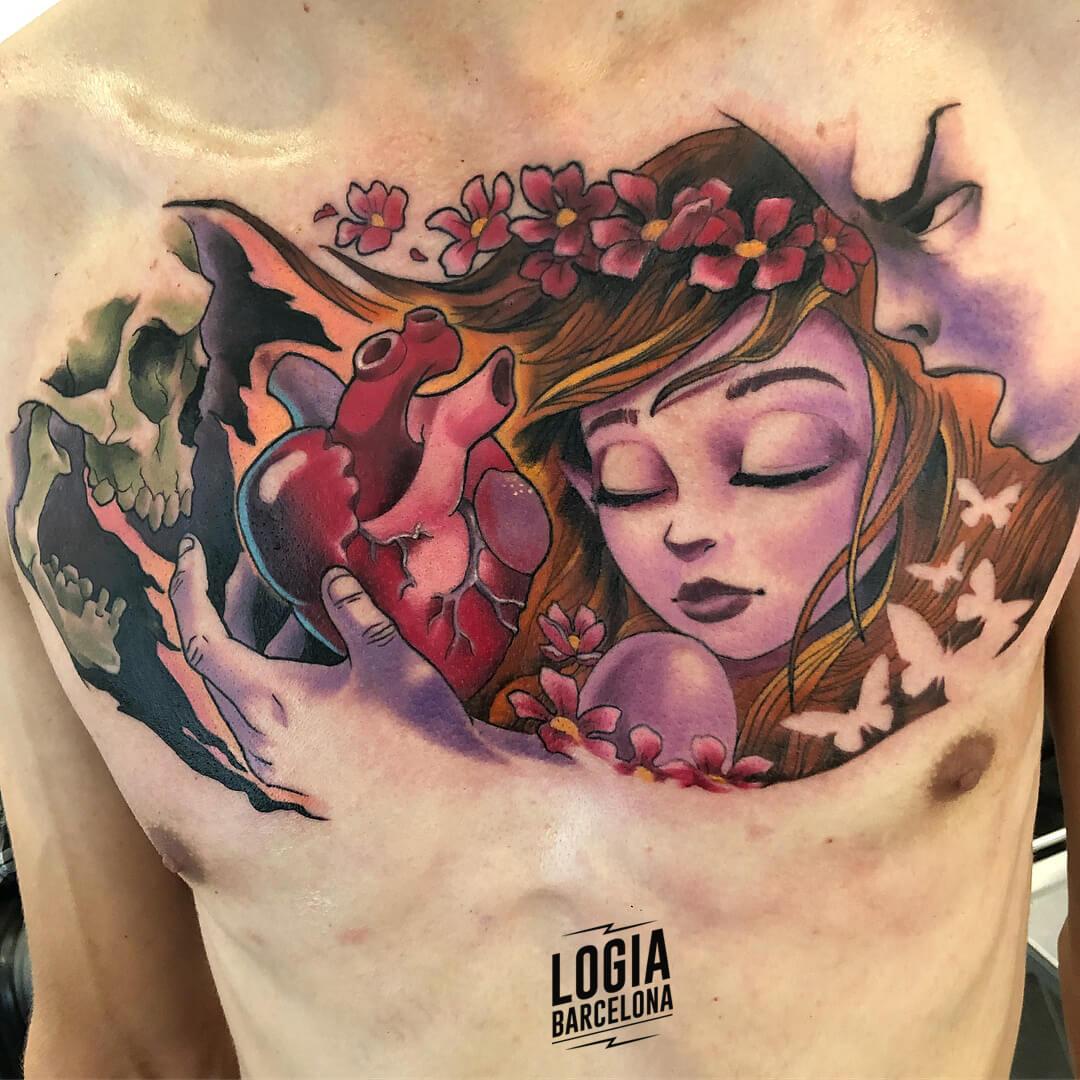 tatuajes vida y muerte