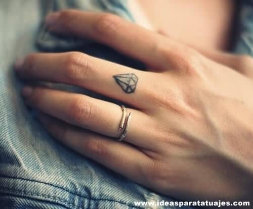 Tatuajes De Diamantes Tatuajes Logia Barcelona