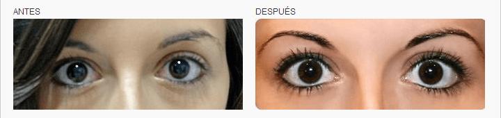 micropigmentación en los ojos línea pestañas logia barcelona