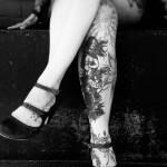 Cuerpos tatuados (casi) al completo