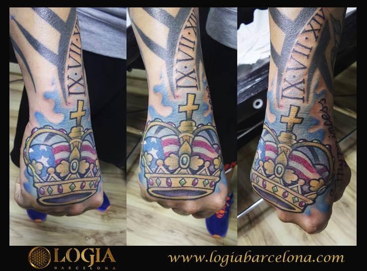 Tatuajes De Coronas Tatuajes Logia Barcelona