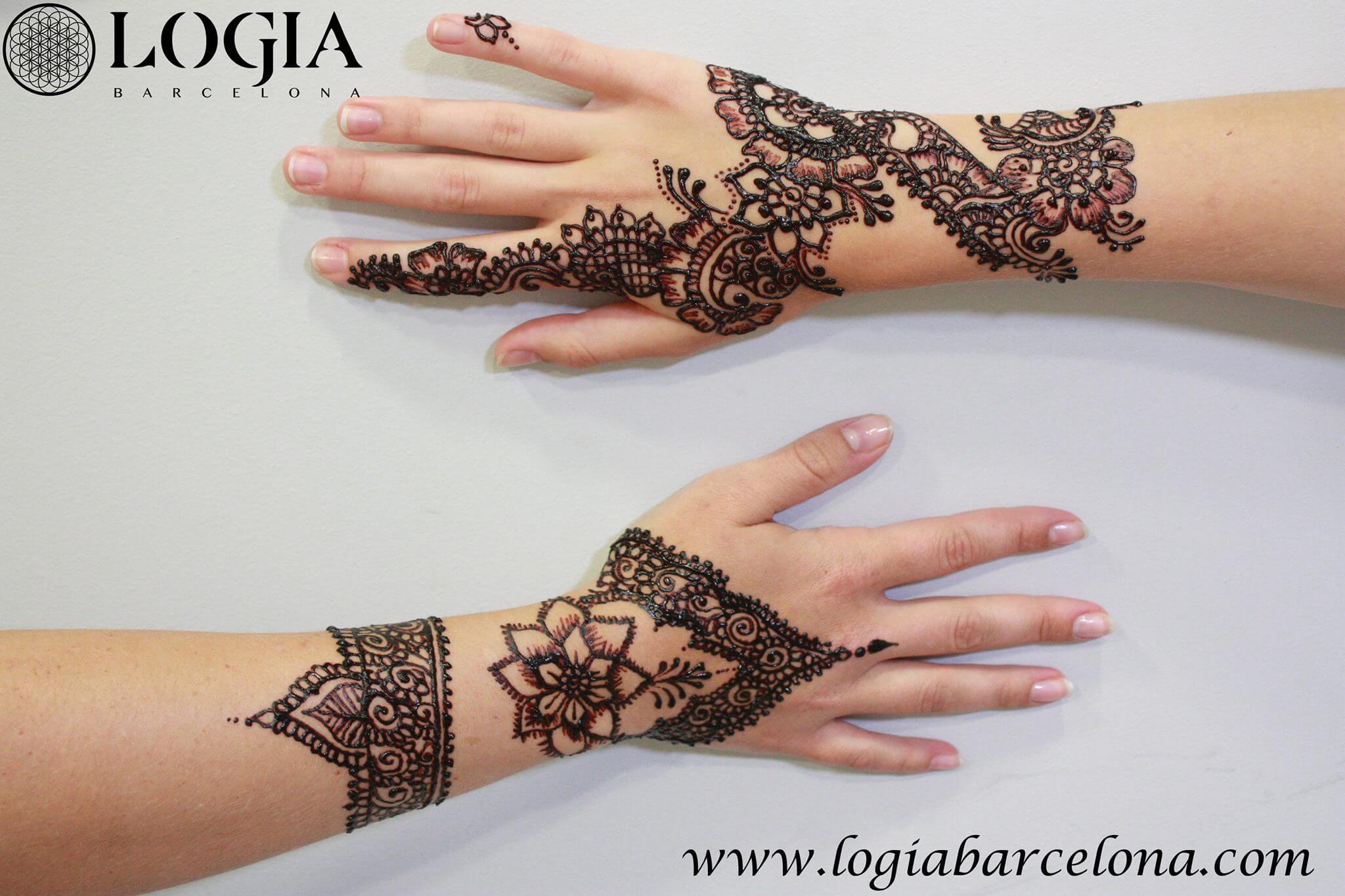 Tatuajes Mehndi Diseños : Tatuajes étnicos logia barcelona