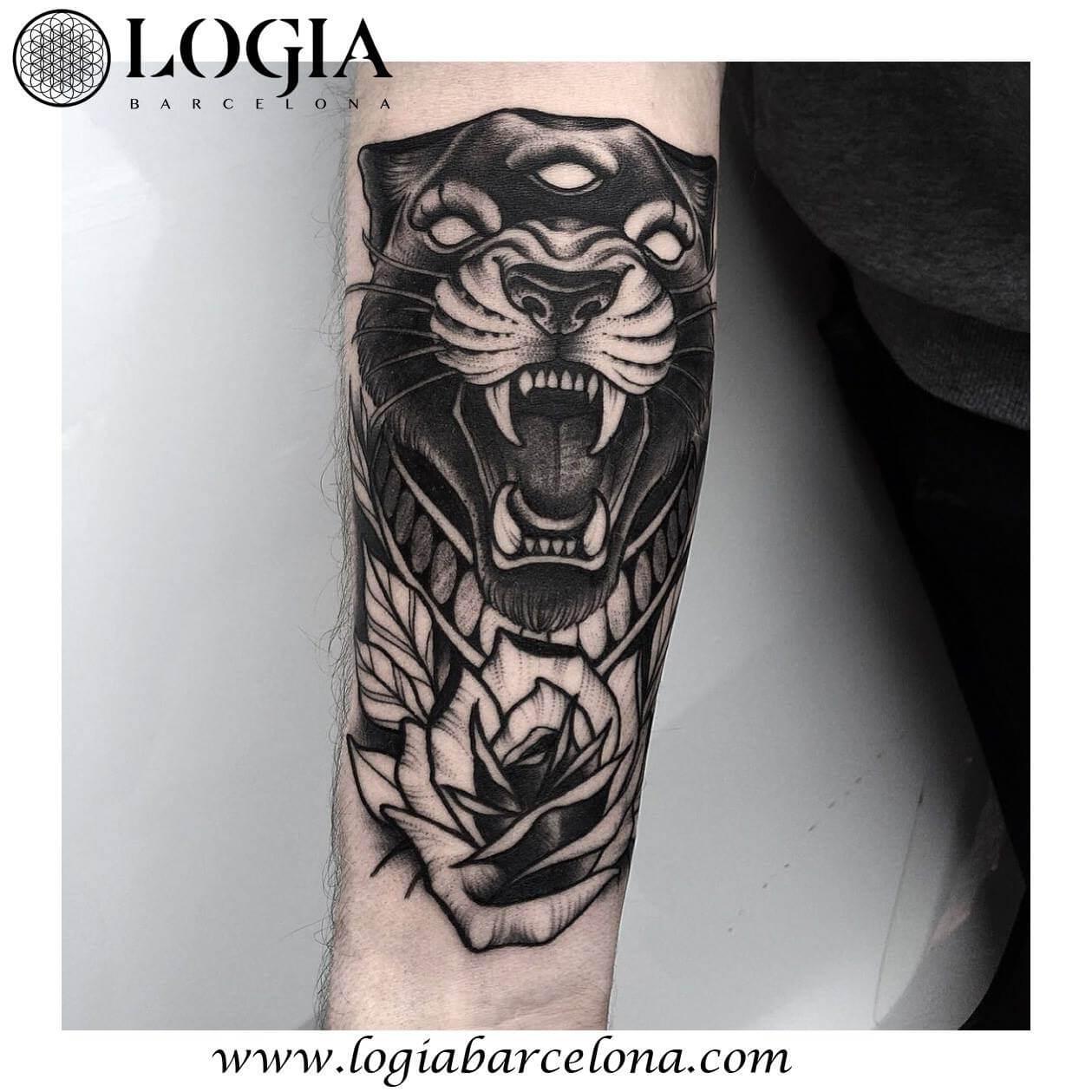 Tatuajes De Panteras Tatuajes Logia Barcelona