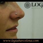 Piercing en la nariz