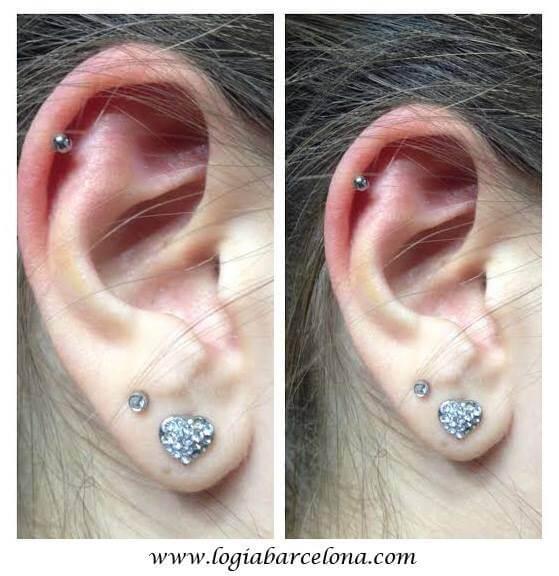 El Piercing Helix Tatuajes Logia Barcelona