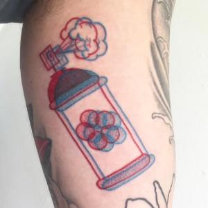Tatuaje Kickin' it old school
