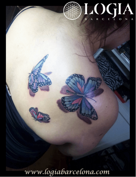 Tatuajes Para Tapar Otro Tatuaje tatuajes en el omóplato - | tatuajes logia barcelona
