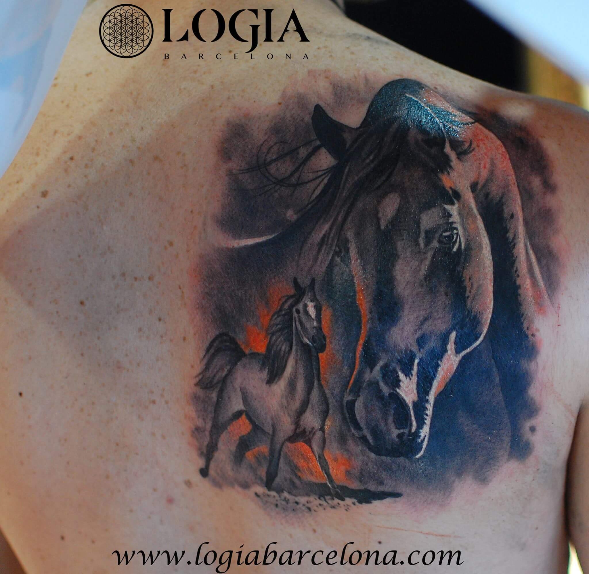 Tatuajes De Caballos Tatuajes Logia Barcelona