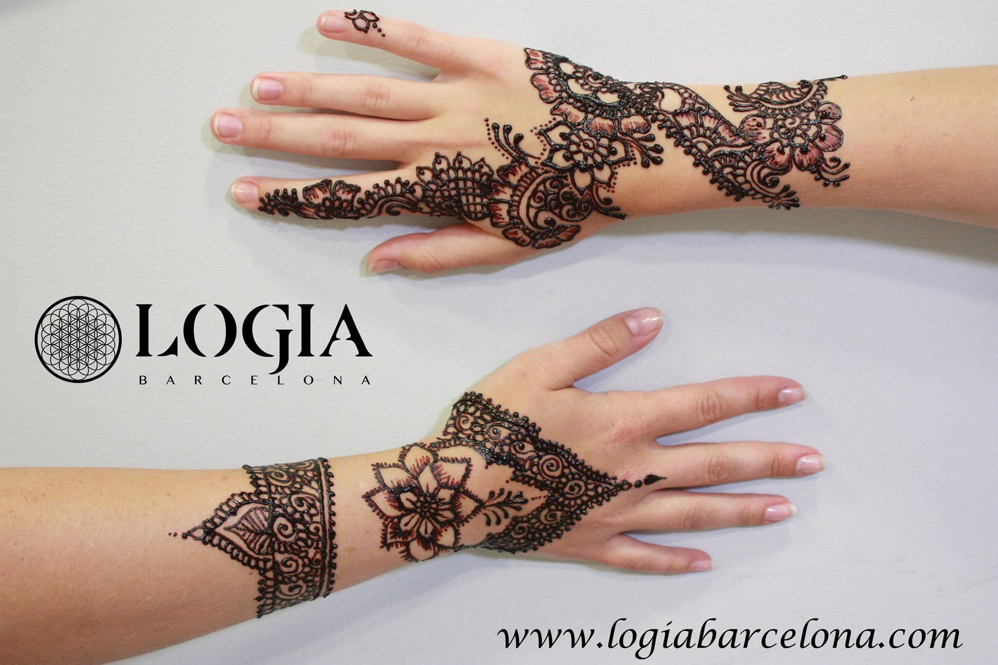 Significado de los tatuajes de henna logia tattoo barcelona for Henna para manos