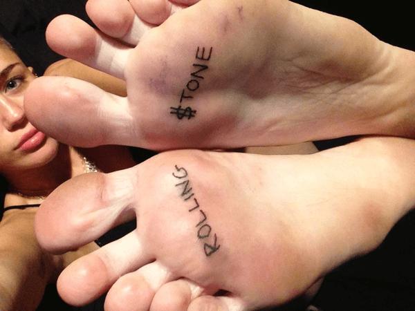 tatuajes en la planta de los pies