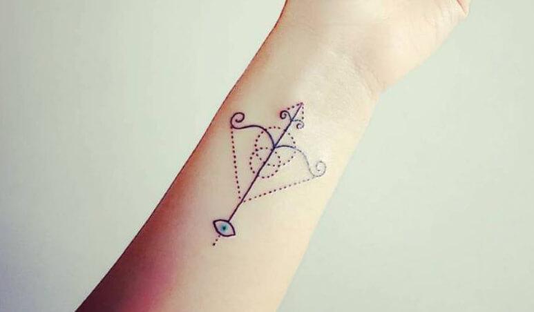 Tatuaje de Sagitario