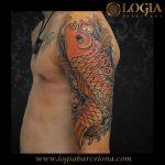 Tatuajes de la Carpa Koi