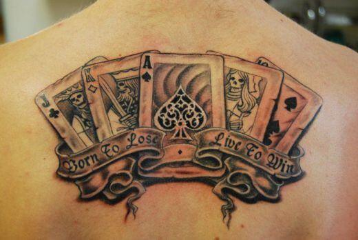 Tatuajes De Cartas Tatuajes Logia Barcelona