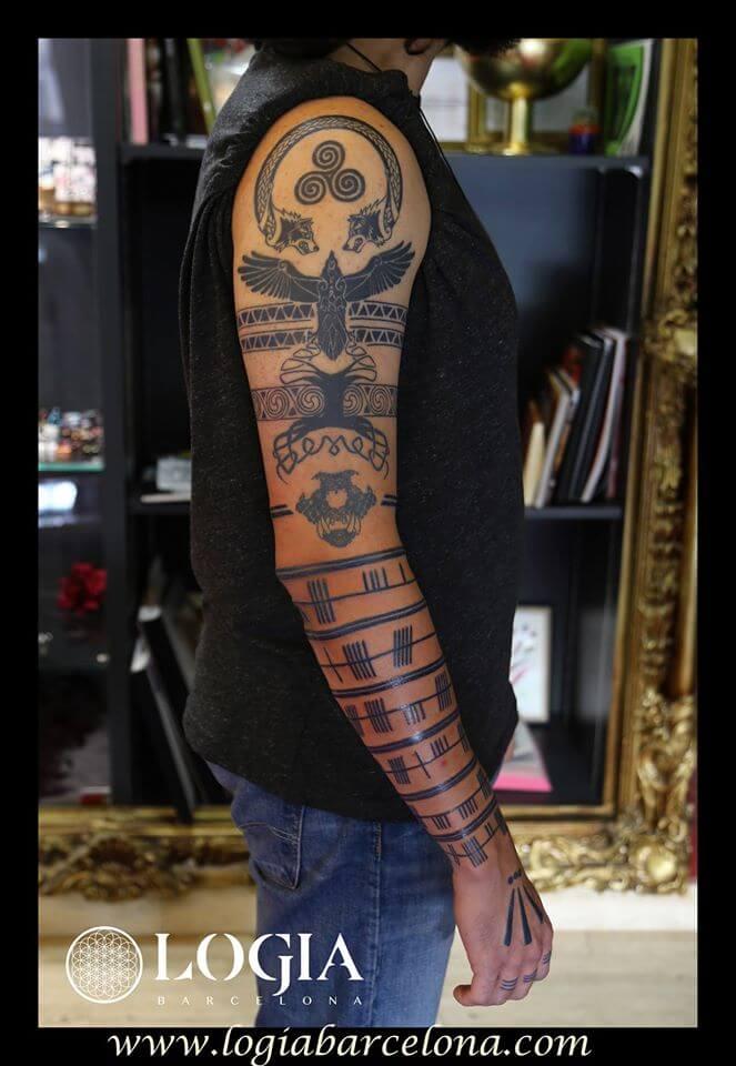 Tatuajes Hombre Brazo Entero