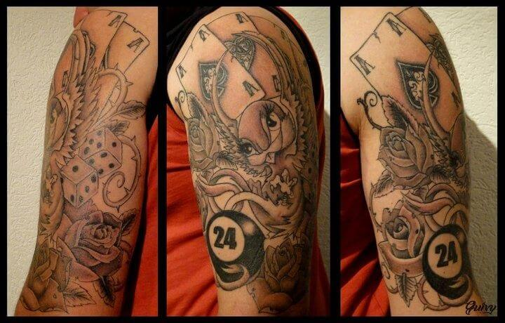 Tatuajes De Poker Tatuajes Logia Barcelona