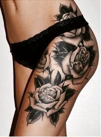 Caderas Todavía Más Sensuales Gracias A Los Tatuajes Tatuajes