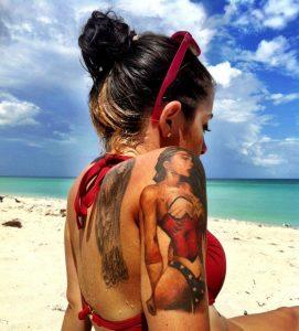 cuidado tatuaje sol brazo